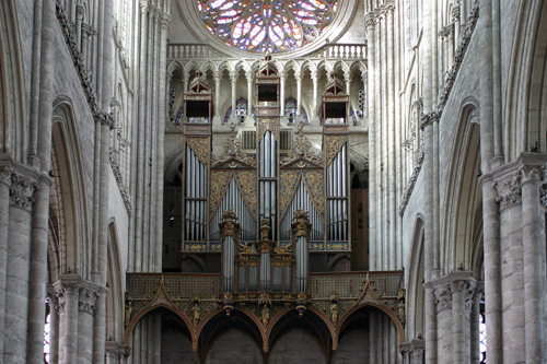 Grand orgue de la cathédrale d'Amiens